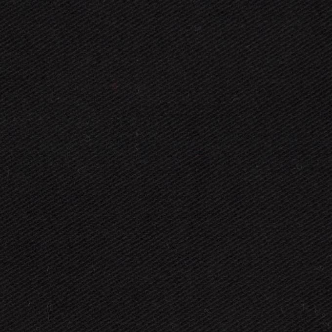 コットン&ポリウレタン×無地(ブラック)×モールスキンストレッチ_全3色 イメージ1