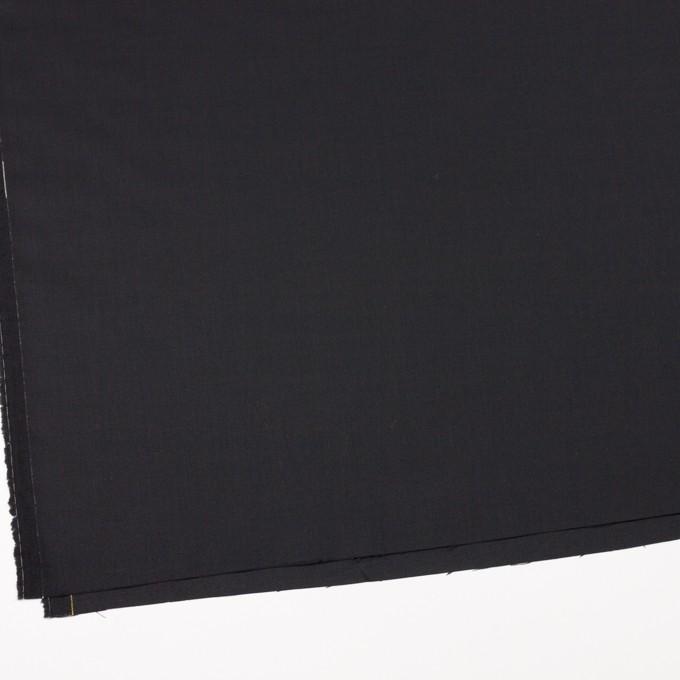 ウール&ポリウレタン×無地(チャコールブラック)×サージストレッチ イメージ2