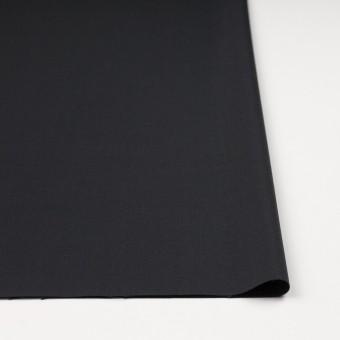ウール&ポリウレタン×無地(チャコールブラック)×サージストレッチ サムネイル3