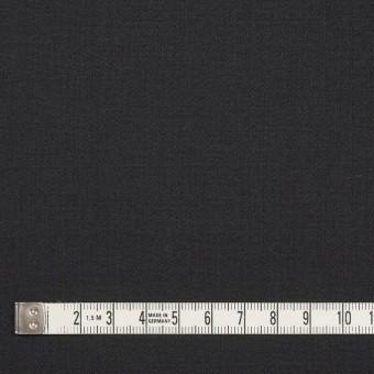 ウール&ポリウレタン×無地(チャコールブラック)×サージストレッチ サムネイル4