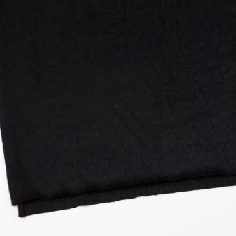 アンゴラ×無地(ブラック)×シャギーニット サムネイル2