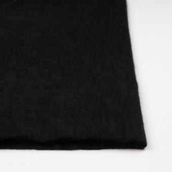 アンゴラ×無地(ブラック)×シャギーニット サムネイル3