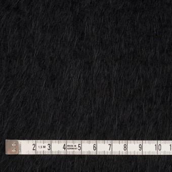 アンゴラ×無地(ブラック)×シャギーニット サムネイル4