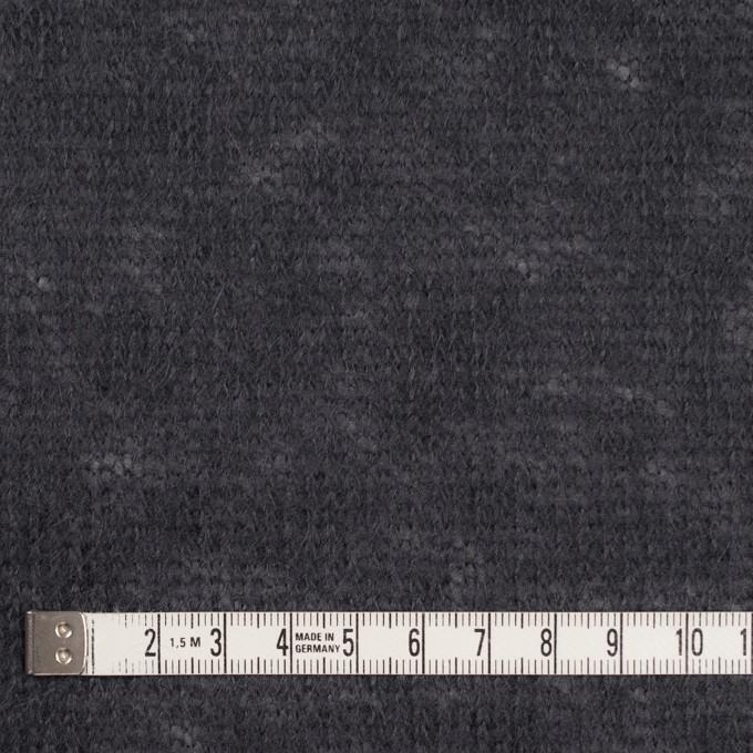 アクリル&ウール×無地(ラベンダーグレー)×メッシュニット イメージ4
