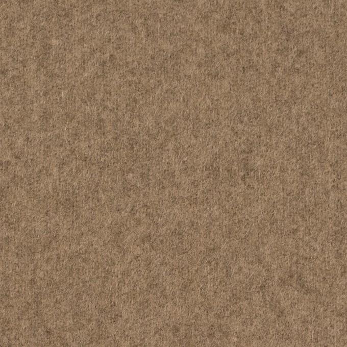 ウール&ナイロン×無地(シナモン)×メルトン イメージ1