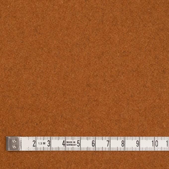 ウール&ナイロン×無地(オレンジブリック)×フラノ(フランネル) イメージ4