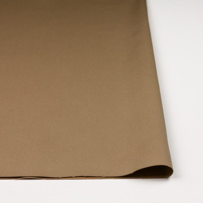 コットン&ポリエステル×無地(カーキベージュ&アプリコット)×シャンブレーチノクロス_全5色 イメージ3