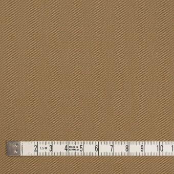 コットン&ポリエステル×無地(カーキベージュ&アプリコット)×シャンブレーチノクロス_全5色 サムネイル4