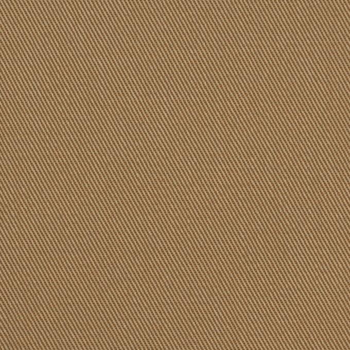 コットン&ポリエステル×無地(カーキベージュ&アプリコット)×シャンブレーチノクロス_全5色 イメージ1