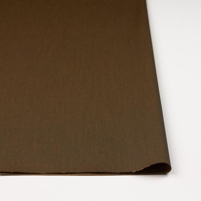 コットン&ポリエステル×無地(カーキグリーン&アプリコット)×シャンブレーチノクロス_全5色 イメージ3
