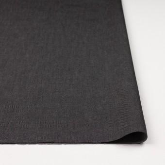 コットン&ポリエステル×無地(ブラック&オフホワイト)×シャンブレーチノクロス_全5色 サムネイル3