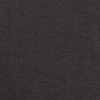 コットン&ポリエステル×無地(ブラック&オフホワイト)×シャンブレーチノクロス_全5色