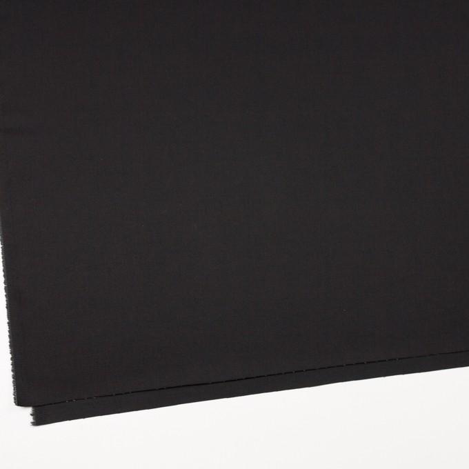 コットン&ポリエステル×無地(ブラック&カーキグリーン)×シャンブレーチノクロス_全5色 イメージ2