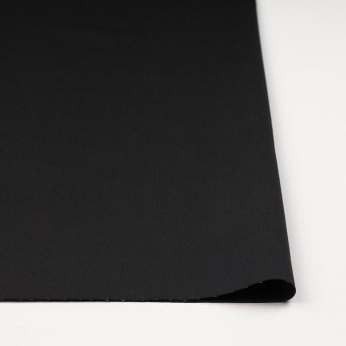 コットン&ポリエステル×無地(ブラック&カーキグリーン)×シャンブレーチノクロス_全5色 イメージ3