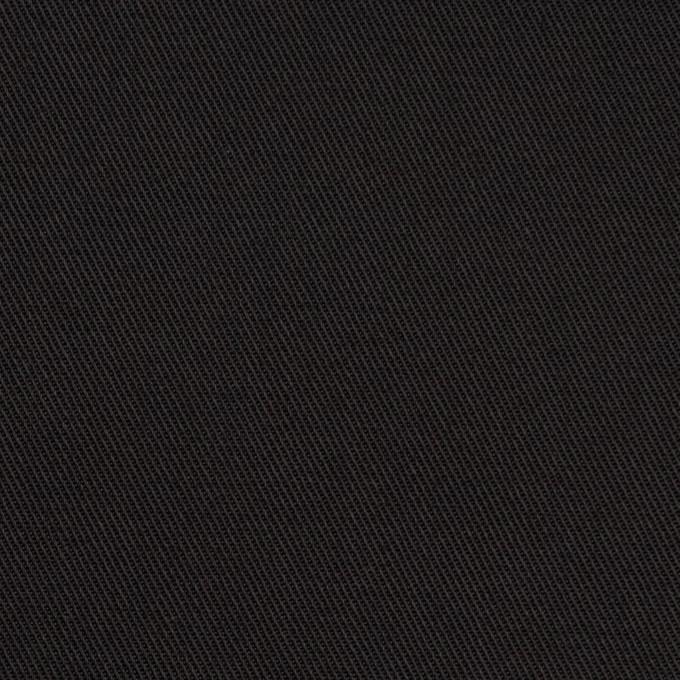 コットン&ポリエステル×無地(ブラック&カーキグリーン)×シャンブレーチノクロス_全5色 イメージ1