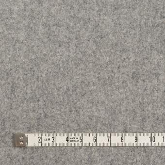 ウール×無地(ライトグレー)×フラノ(フランネル) サムネイル4