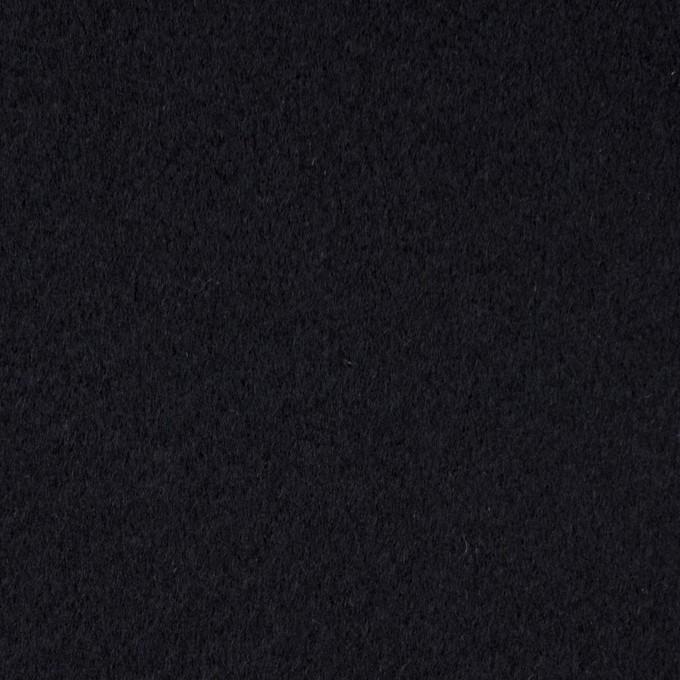 ウール&カシミア×無地(ダークネイビー)×メルトン イメージ1