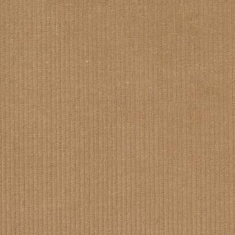 コットン&ポリウレタン×無地(キャメル)×細コーデュロイ・ストレッチ