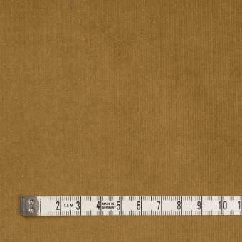 コットン&ポリウレタン×無地(イエローオーカー)×細コーデュロイ・ストレッチ サムネイル4