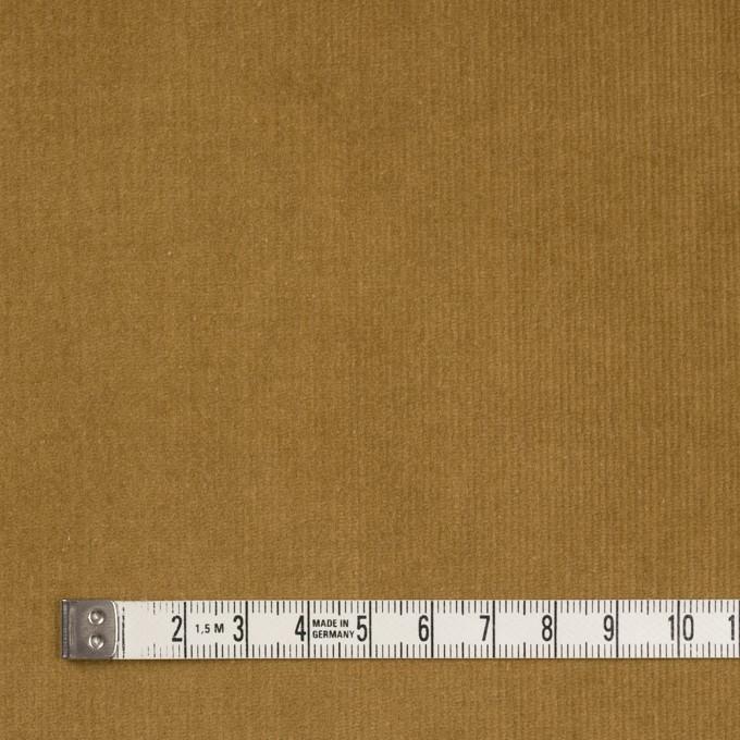 コットン&ポリウレタン×無地(イエローオーカー)×細コーデュロイ・ストレッチ イメージ4
