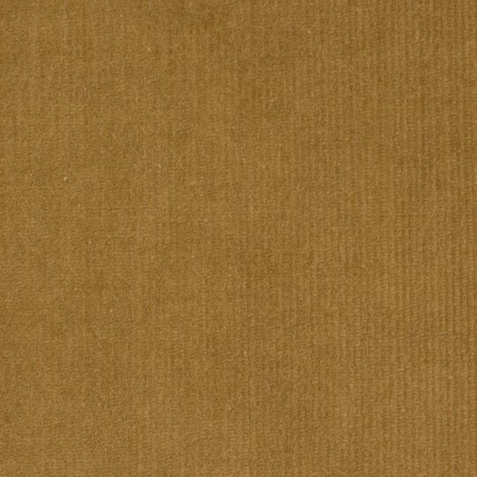 コットン&ポリウレタン×無地(イエローオーカー)×細コーデュロイ・ストレッチ イメージ1