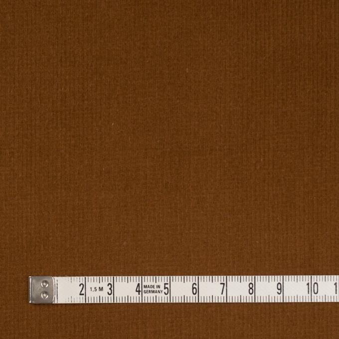 コットン&ポリウレタン×無地(マロン)×細コーデュロイ・ストレッチ イメージ4