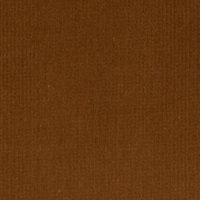 コットン&ポリウレタン×無地(マロン)×細コーデュロイ・ストレッチ イメージ1