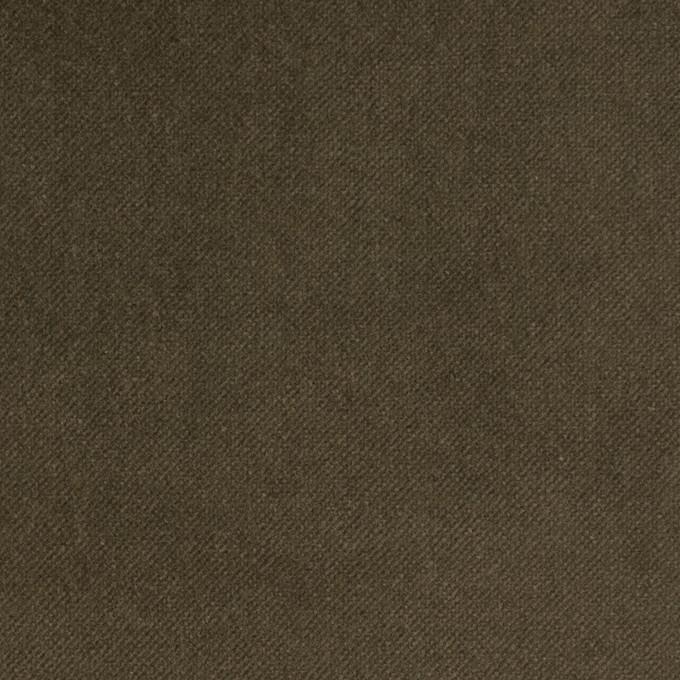 コットン×無地(カーキ)×ベッチン イメージ1