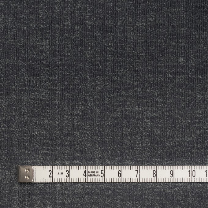 コットン&ポリエステル混×無地(スチールグレー)×細コーデュロイ・ストレッチ イメージ4