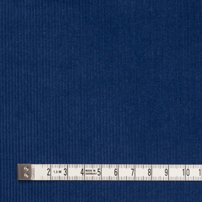 コットン×無地(マリンブルー)×細コーデュロイ イメージ4
