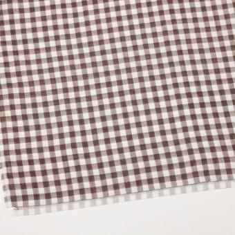 コットン×チェック(ブラウン)×Wガーゼ_全5色 サムネイル2