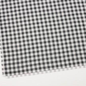 コットン×チェック(ブラック)×Wガーゼ_全5色 サムネイル2