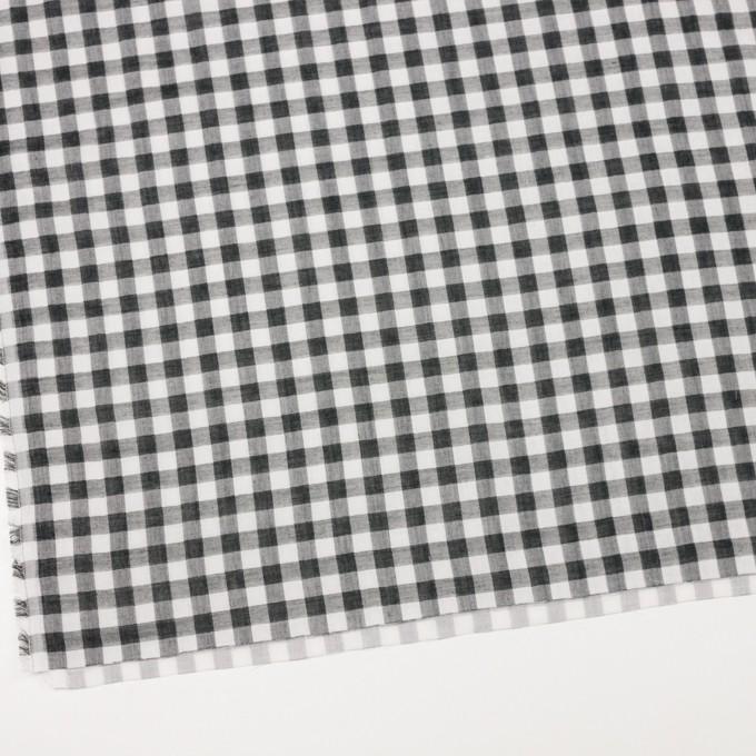 コットン×チェック(ブラック)×Wガーゼ_全5色 イメージ2