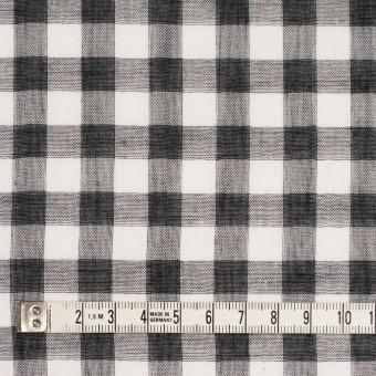 コットン×チェック(ブラック)×Wガーゼ_全5色 サムネイル4