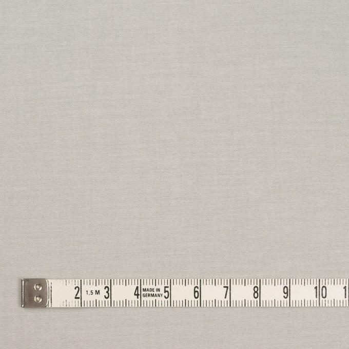 コットン&ポリウレタン×無地(ライトグレー&オフホワイト)×ブロードストレッチ(ボンディング)_全4色 イメージ4