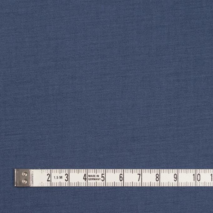コットン&ポリウレタン×無地(アイアンブルー&チャコール)×ブロードストレッチ(ボンディング)_全4色 イメージ4