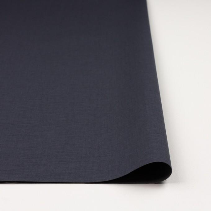 コットン&ポリウレタン×無地(アイアンネイビー&グレー)×ブロードストレッチ(ボンディング)_全4色 イメージ3