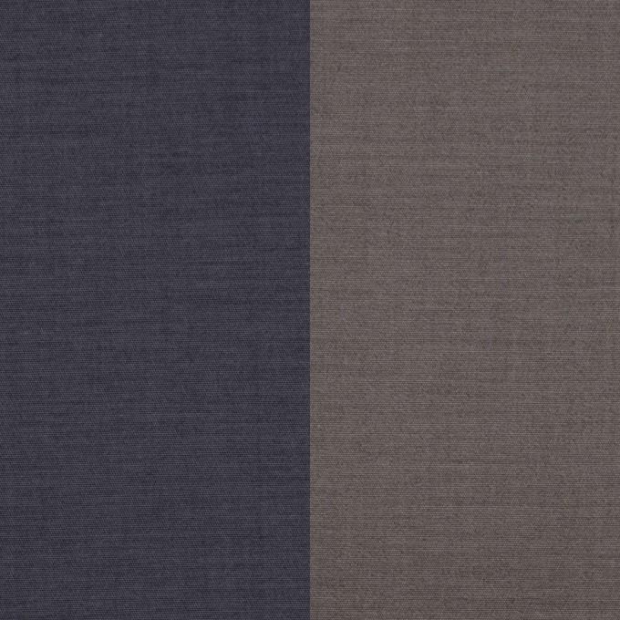 コットン&ポリウレタン×無地(アイアンネイビー&グレー)×ブロードストレッチ(ボンディング)_全4色 イメージ1