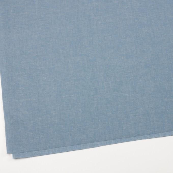 コットン&テンセル混×無地(サックス)×薄ダンガリー_全4色 イメージ2