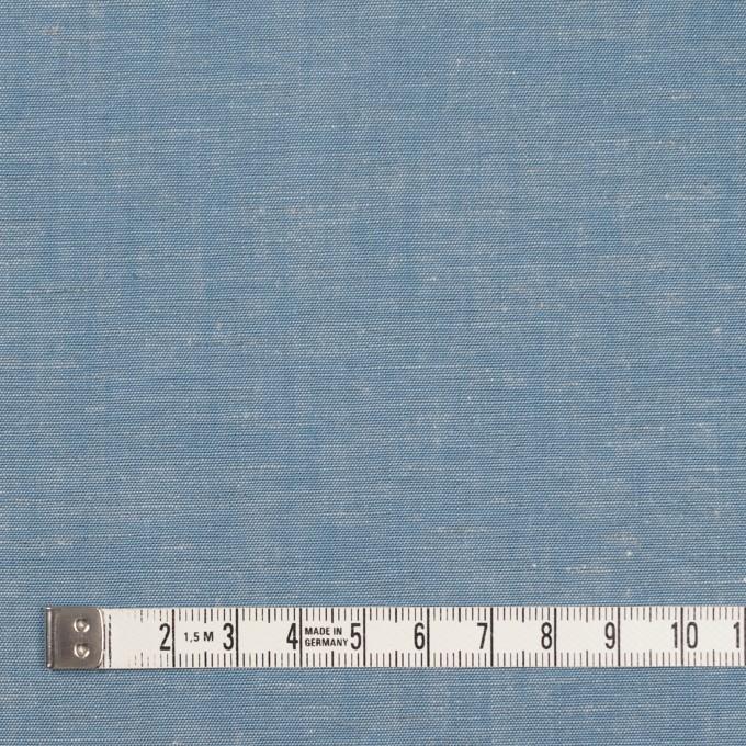 コットン&テンセル混×無地(サックス)×薄ダンガリー_全4色 イメージ4