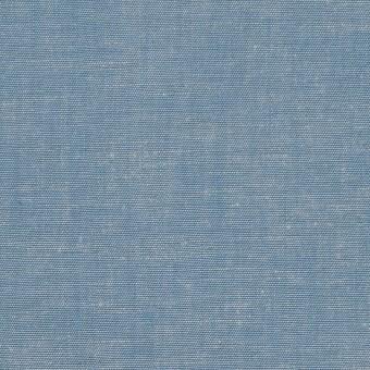 コットン&テンセル混×無地(サックス)×薄ダンガリー_全4色 サムネイル1
