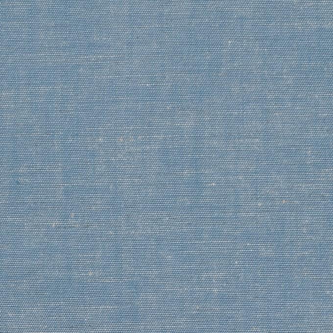 コットン&テンセル混×無地(サックス)×薄ダンガリー_全4色 イメージ1