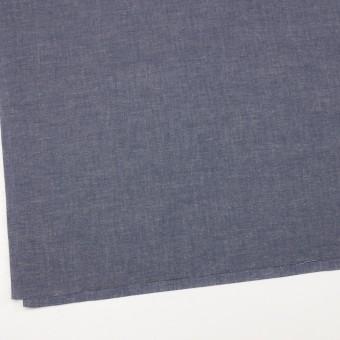 コットン&テンセル混×無地(ネイビー)×薄ダンガリー_全4色 サムネイル2