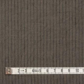 リネン×ストライプ(アッシュカーキ)×薄キャンバス サムネイル4