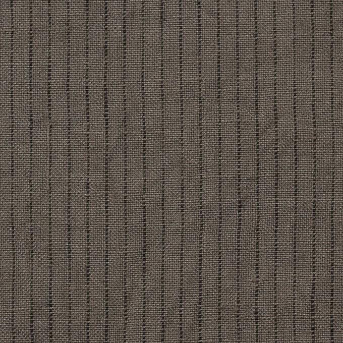 リネン×ストライプ(アッシュカーキ)×薄キャンバス イメージ1