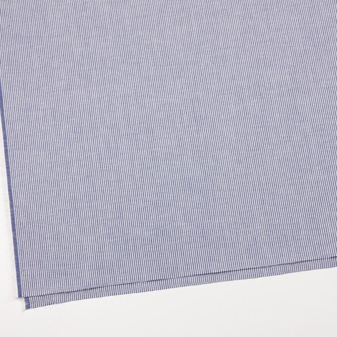 コットン×ストライプ(ブルー)×コードレーン イメージ2