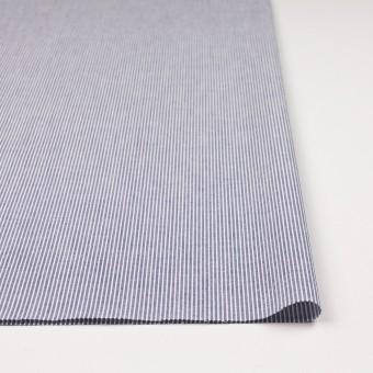 コットン×ストライプ(ブルー)×コードレーン サムネイル3