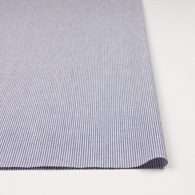 コットン×ストライプ(ブルー)×コードレーン イメージ3