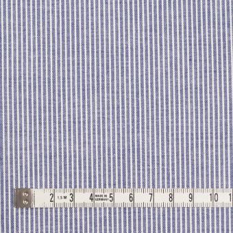 コットン×ストライプ(ブルー)×コードレーン サムネイル4