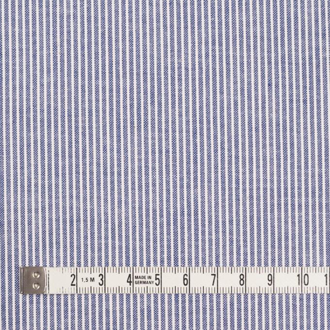 コットン×ストライプ(ブルー)×コードレーン イメージ4